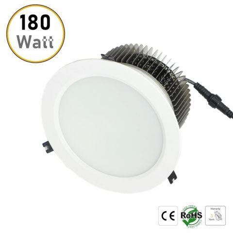 180W recessed LED downlight