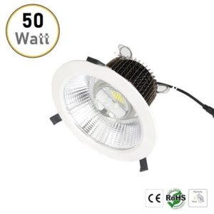 50W recessed LED downlights