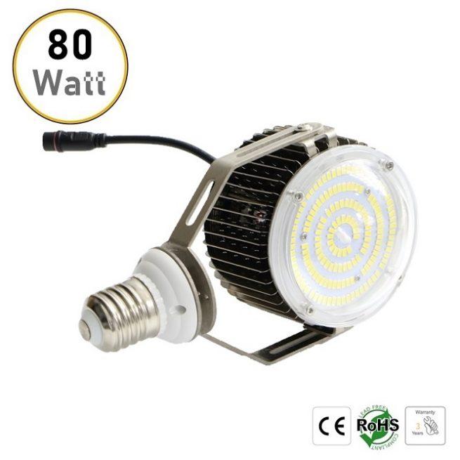 80W LED retrofit bulb