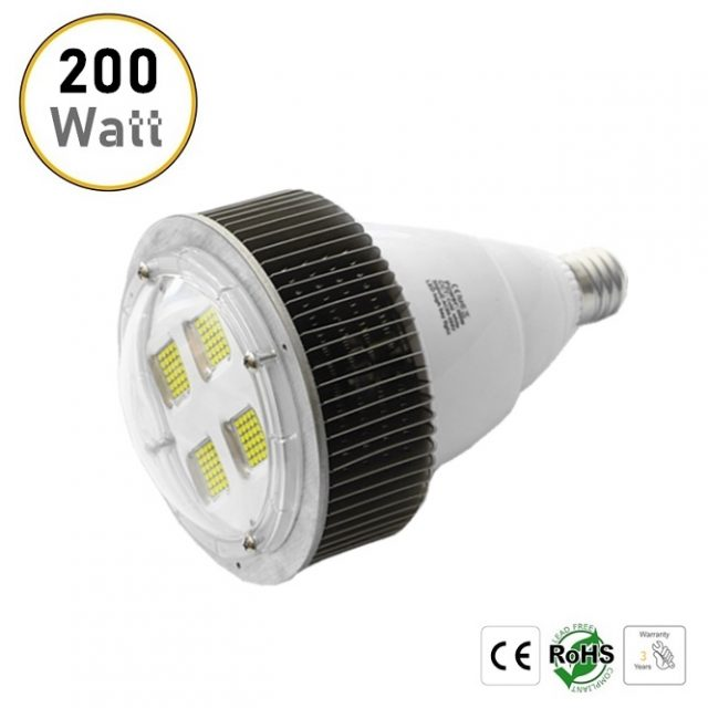 E40 E39 200W LED light bulbs