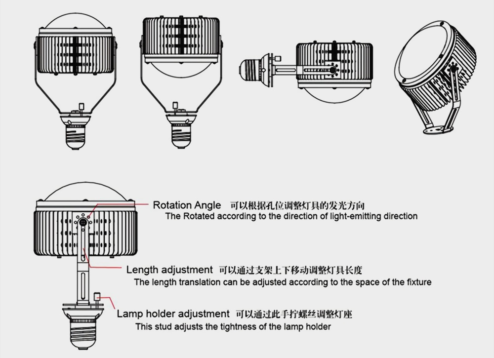 LED retrofit kits installation method