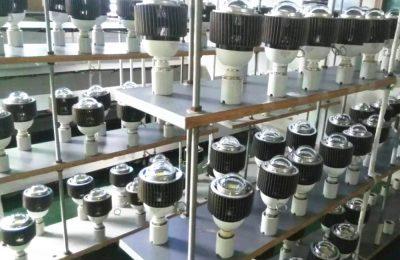 testing for E40 LED high bay light