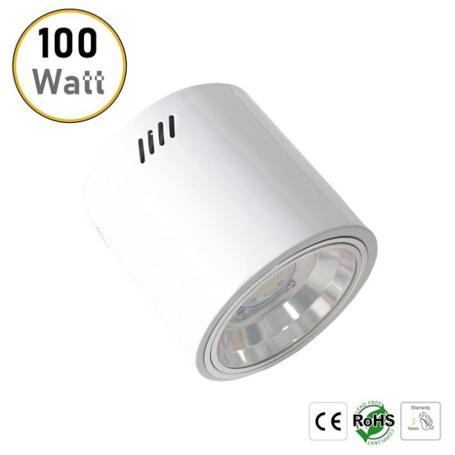 100W surface mounted downlight