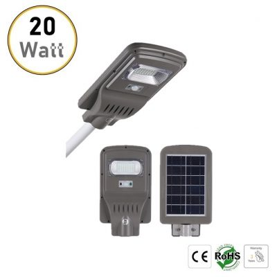 20W solar LED street lights
