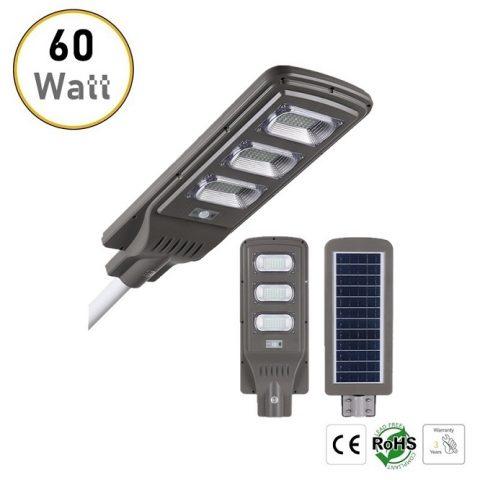 60W solar LED street lights