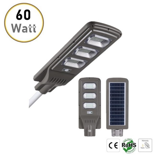 60W solar LED street lights