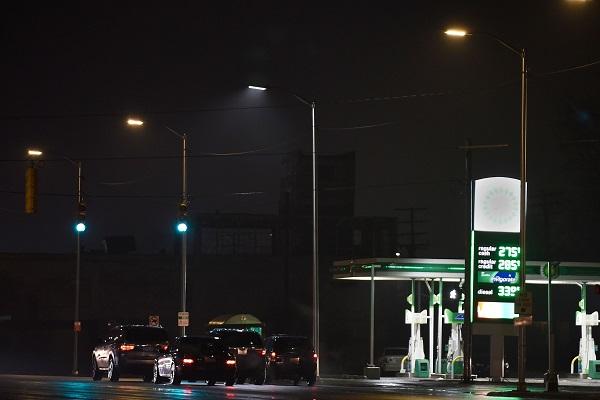 Detroit street lighting