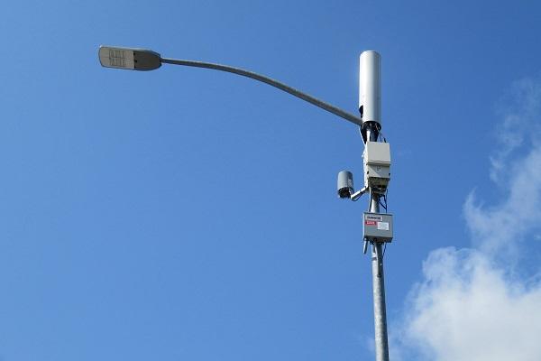 5G & LED street lights