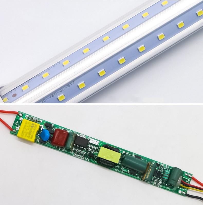 T8 V type LED tube light-1