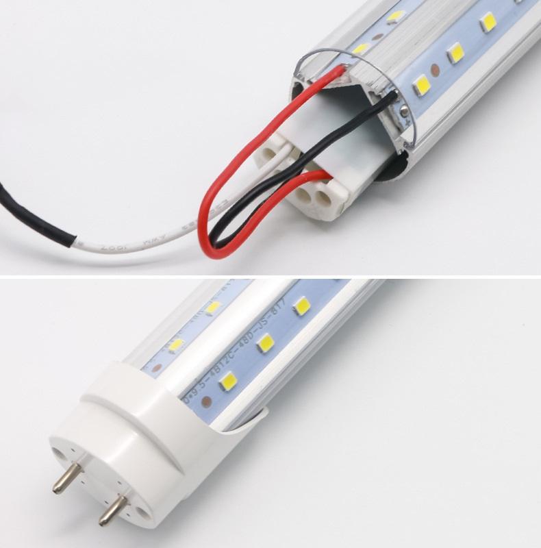 T8 V type LED tube light-3