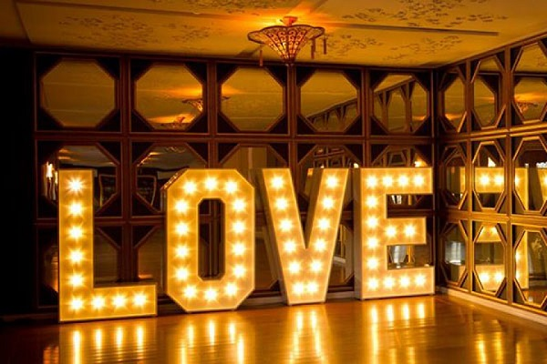 Love and LED lighting