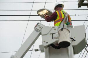 Detroit replace street lighting