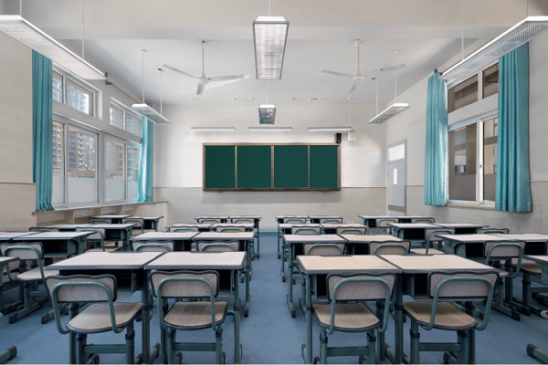 Wenzhou classrooms lighting