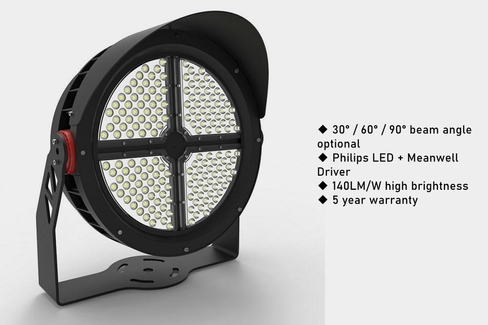 300w 400w led court light 2