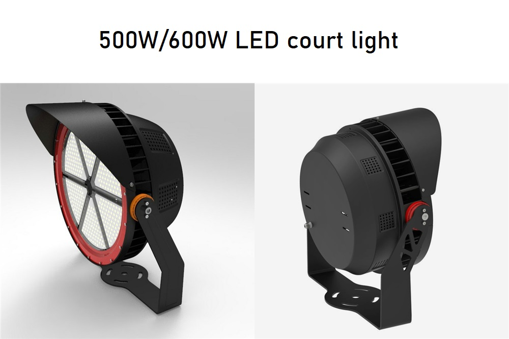 500w 600w led court light 3